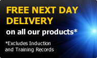 Free next day delivery on all our products
